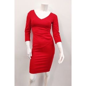 $378 Diane Von Furstenberg Poppy Bevin Dress 2 XS